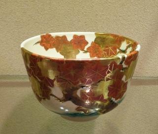 永楽即全造紅葉の画茶碗.JPG